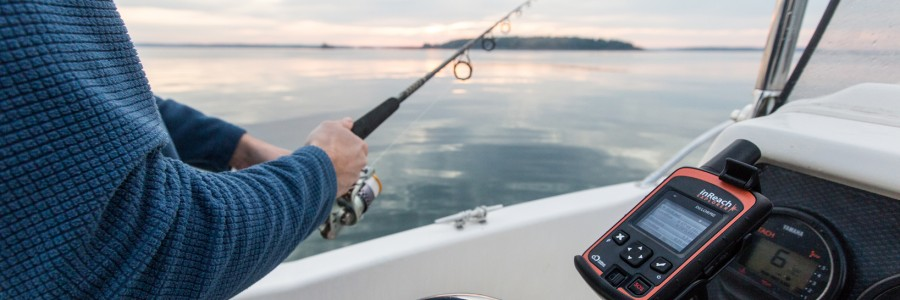 Tell everyone your prized catch when you go on fishing trips!